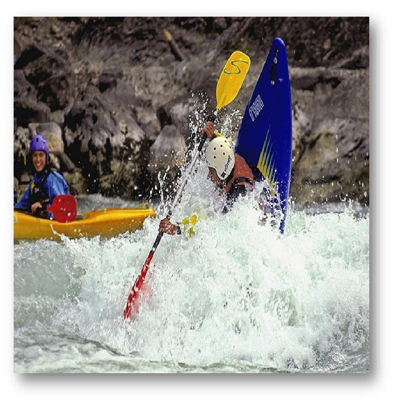 Virée en canoë kayak pour des sensations fortes