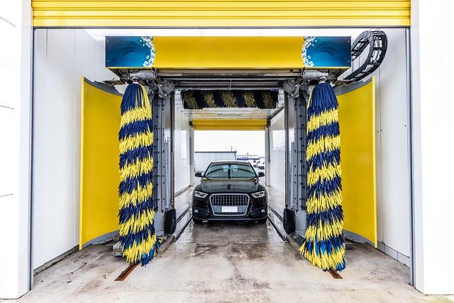 nettoyage de voiture